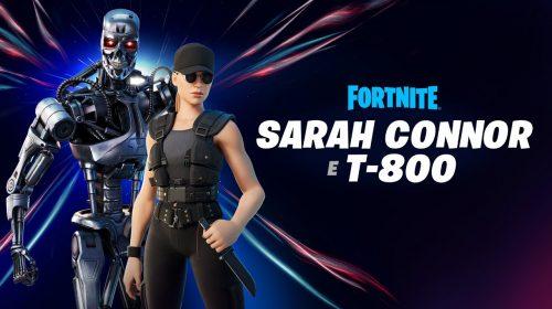 Olha a Skynet! T-800 e Sarah Connor chegam ao Fortnite