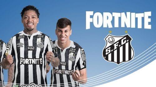 Fortnite será o patrocinador master do Santos na final da Libertadores