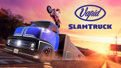 Vapid Slamtruck, um caminhão com uma rampa, é adicionado ao GTA Online