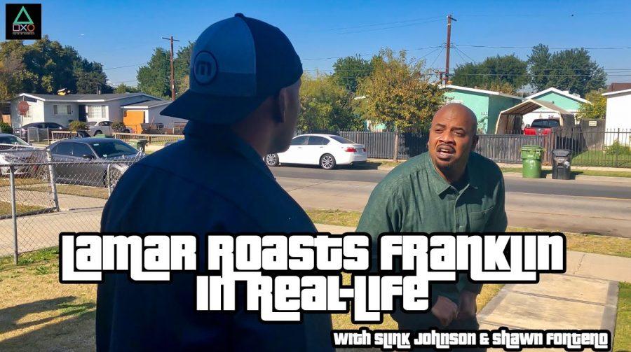 Dubladores de Lamar e Franklin recriam uma das cenas mais icônicas de GTA V na vida real