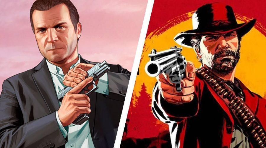 GTA V no PS5 pode usar engine de Red Dead Redemption 2 [rumor]