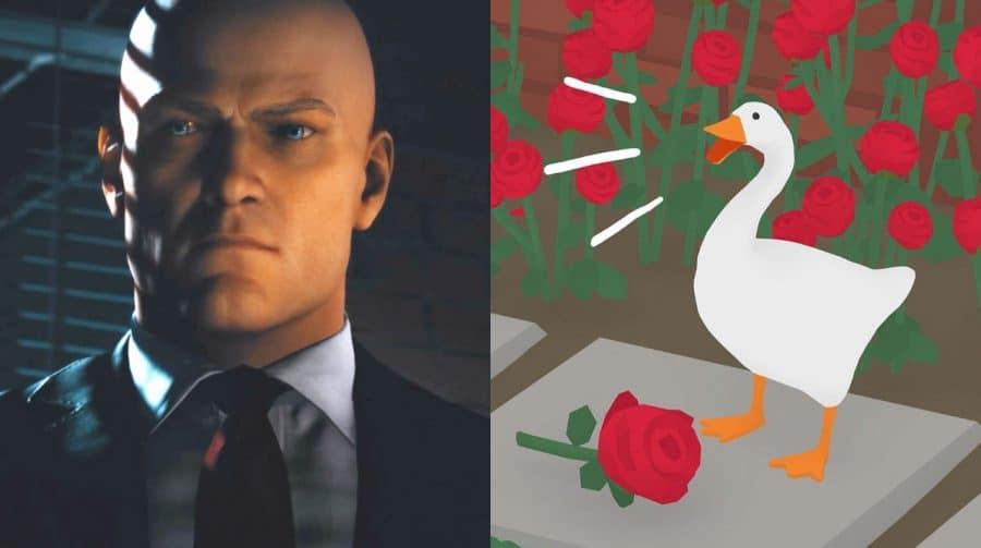 Agente Ganso: HITMAN 3 tem easter egg de Untitled Goose Game