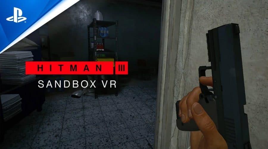 Imersivo: novo trailer de HITMAN 3 detalha os componentes do PSVR