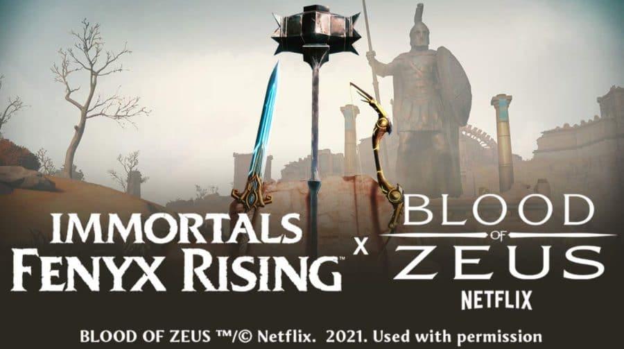 Immortals Fenyx Rising terá crossover com anime da Netflix