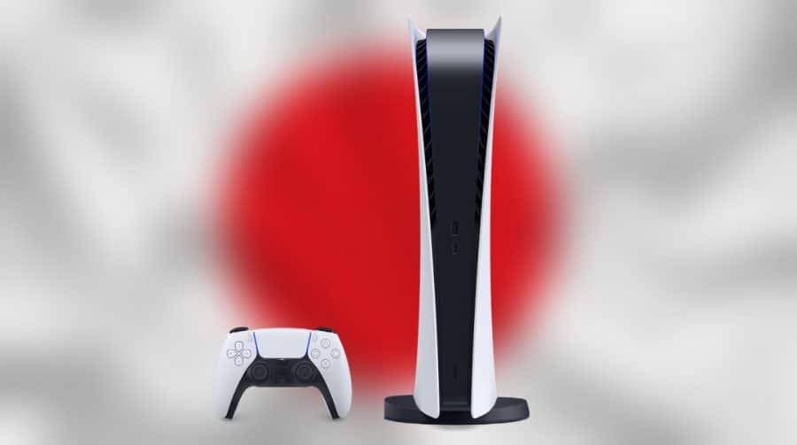 Lançamento do PS5 no Japão foi o menor dos consoles PlayStation, exceto o PSP