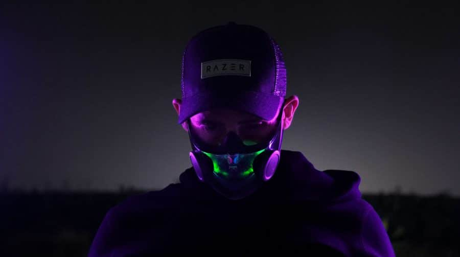 Razer anuncia máscaras