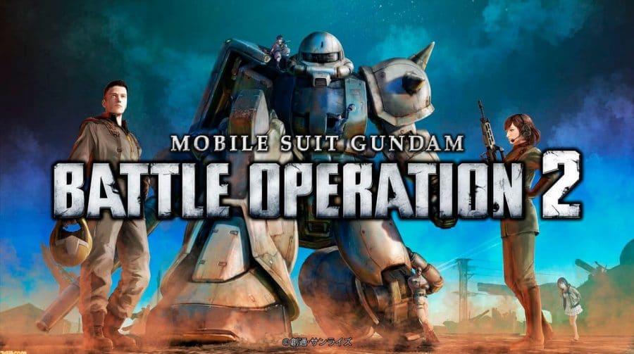 Mobile Suit Gundam Battle Operation 2 chega quinta-feira (28) ao PS5