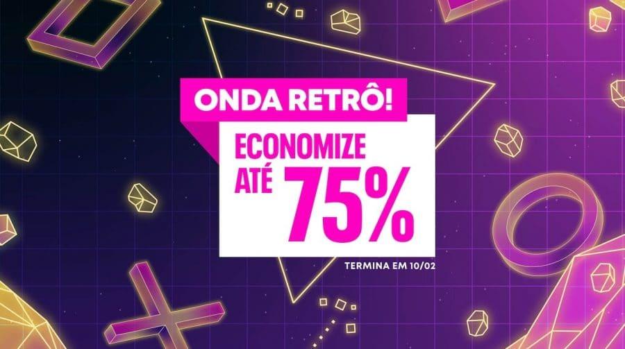 Descontos de até 75%! Sony lança promoção