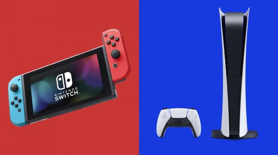 Nintendo Switch vai vender mais que PS5 em 2021, segundo analistas