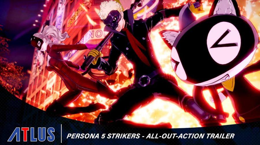 Persona 5 Strikers: trailer mostra ação frenética do estilo