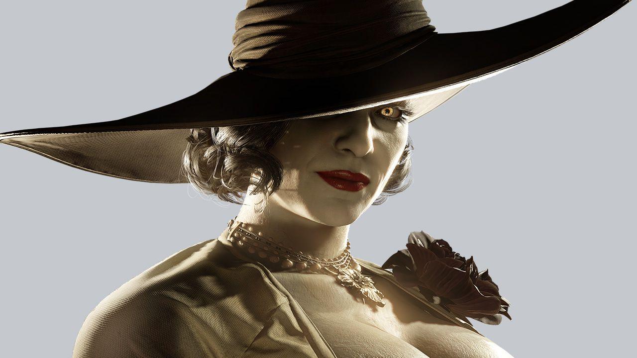 lady Dimitrescu, a nova vilã de Resident Evil Village