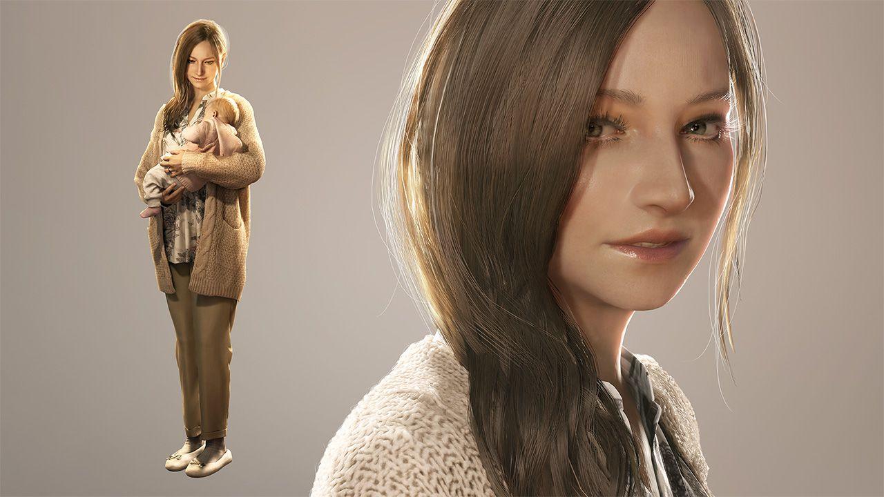 Mia Winters, esposa de Ethan, protagonista de Resident Evil Village