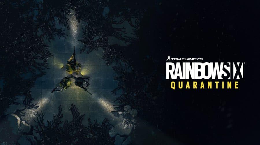 Ubisoft Connect lista Rainbow Six Quarantine para março, mas informação está errada