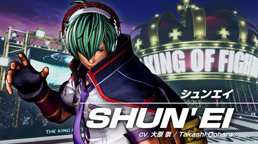 The King of Fighters XV: novo trailer de gameplay de Shun'ei