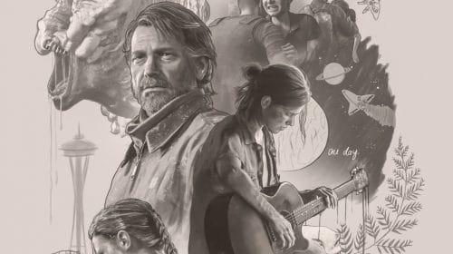 Fã de The Last of Us Part II cria pôster incrível no estilo do diário de Ellie
