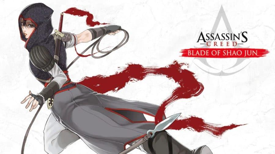 Mangá de Assassin's Creed: Blade of Shao Jun chega no Ocidente em fevereiro