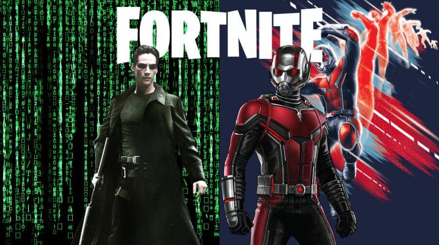 Fortnite pode ter crossover com Homem-Formiga, Matrix e mais