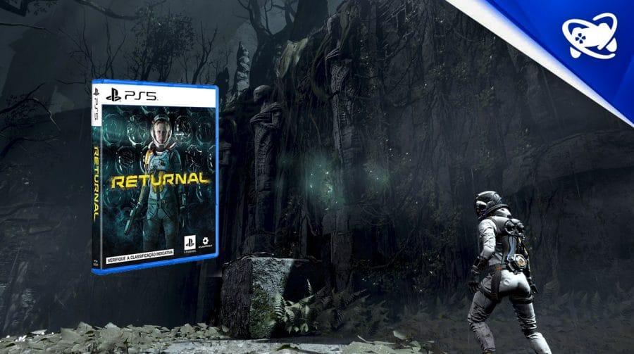 Returnal, exclusivo de PS5, em pré-venda no Brasil!