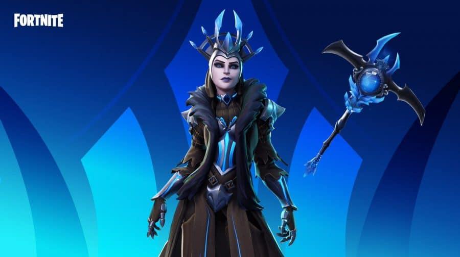 Rainha do Gelo está de volta ao Fortnite (pela sexta vez)