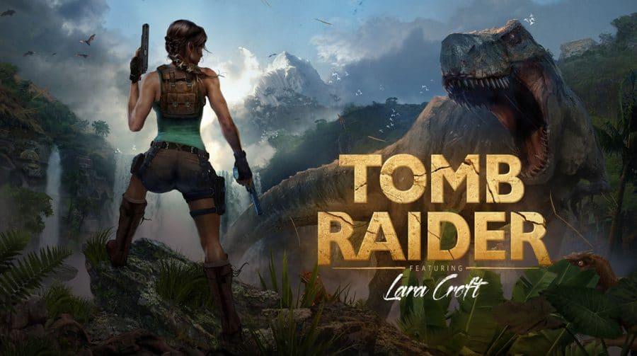 25 anos de Tomb Raider: arte de comemoração