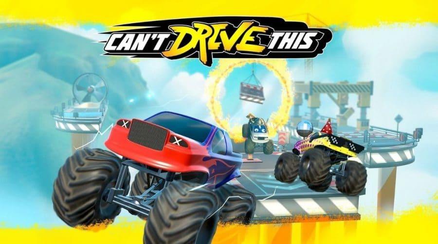Can't Drive This chega ao PS4 e PS5 em março, revela Pixel Maniacs