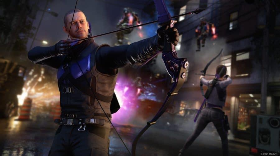 Marvel's Avengers chega em março para PS5, junto com Hawkeye