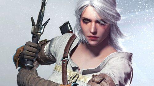 The Witcher 3: arte feita por fã mostra toda a brutalidade de Ciri contra uma bruxa