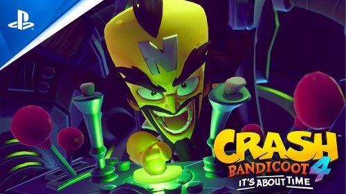 Girando no PS5! Trailer de Crash Bandicoot 4 mostra recursos da nova geração