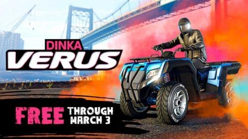 GTA Online: novo off-road Dinka Verus está de graça até o dia 3 de março