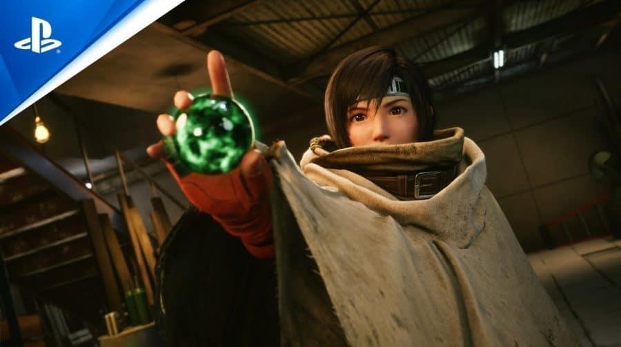 Diretores de Final Fantasy VII Remake Intergrade revelam mais detalhes de Yuffie