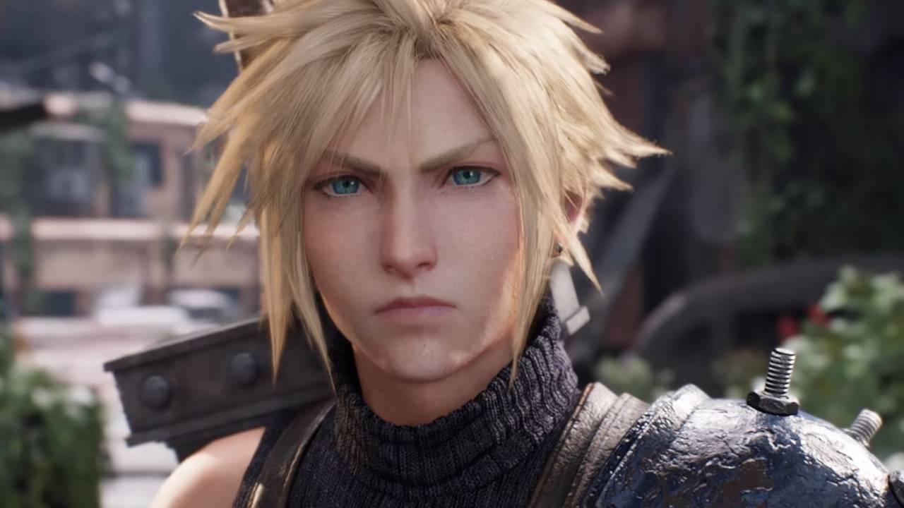 Imagem de capa da matéria sobre o diretor principal de Final Fantasy VII Remake Parte com a imagem de Cloud, o protagonista do jogo