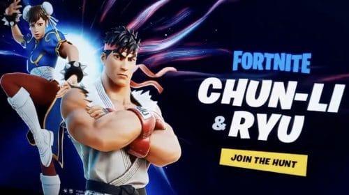 Crossover entre Fortnite e Street Fighter surge na internet antes da hora