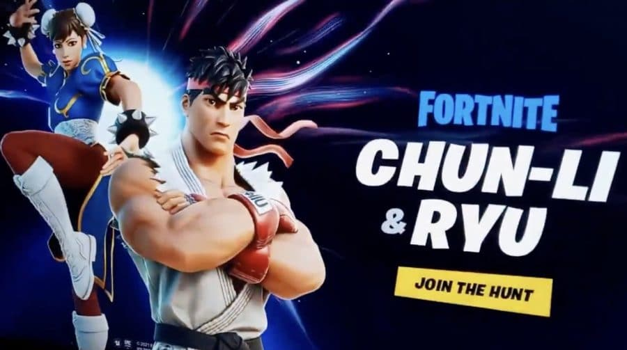 Crossover entre Fortnite e Street Fighter surge na internet antes da hora