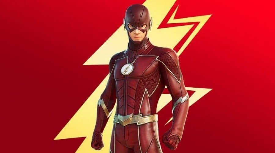 O homem mais rápido do mundo! Skin do Flash pode chegar ao Fortnite