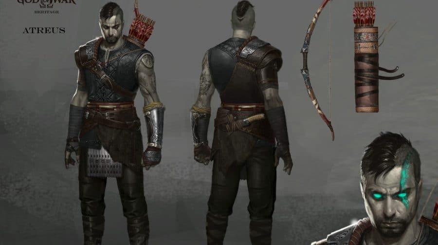 God of War: fã brasileiro imagina Atreus como adulto em arte