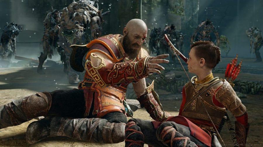 Vídeo compara God of War rodando no PS4, PS4 Pro e PS5