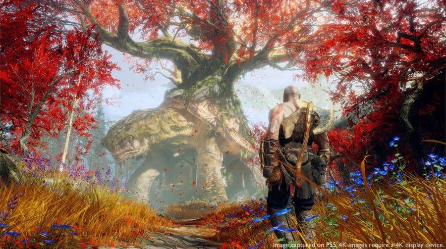 God of War: update do jogo para o PS5 já está disponível