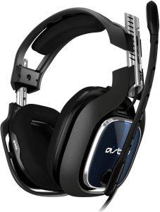 Foto do headset marca Astro Gaming modelo A40 TR para PS4