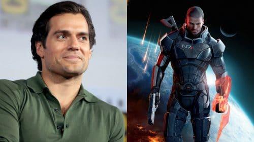 Henry Cavill faz teaser sobre suposto projeto relacionado a Mass Effect