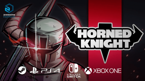 Retrô 2D de ação, Horned Knight chega dia 23 de fevereiro ao PS4