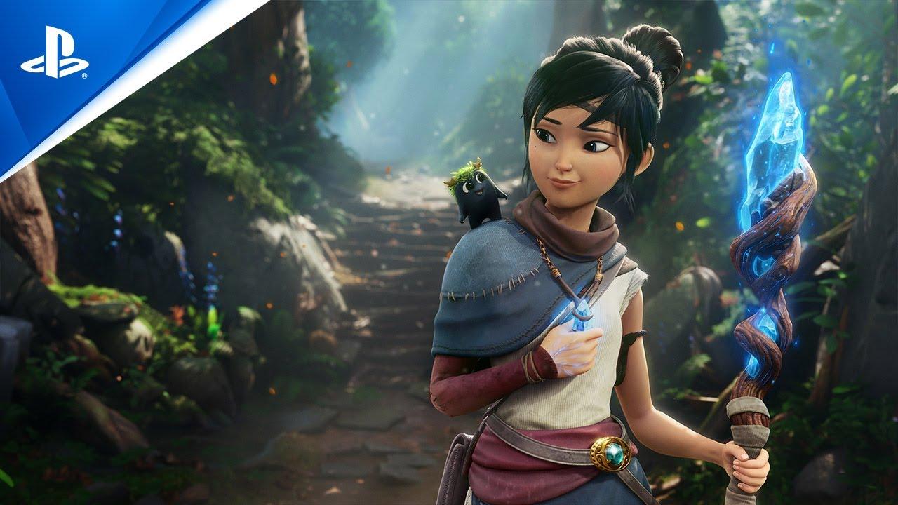 Imagem de capa com a protagonista do jogo Kena Bridge of Spirits pré-venda ilustrando a foto