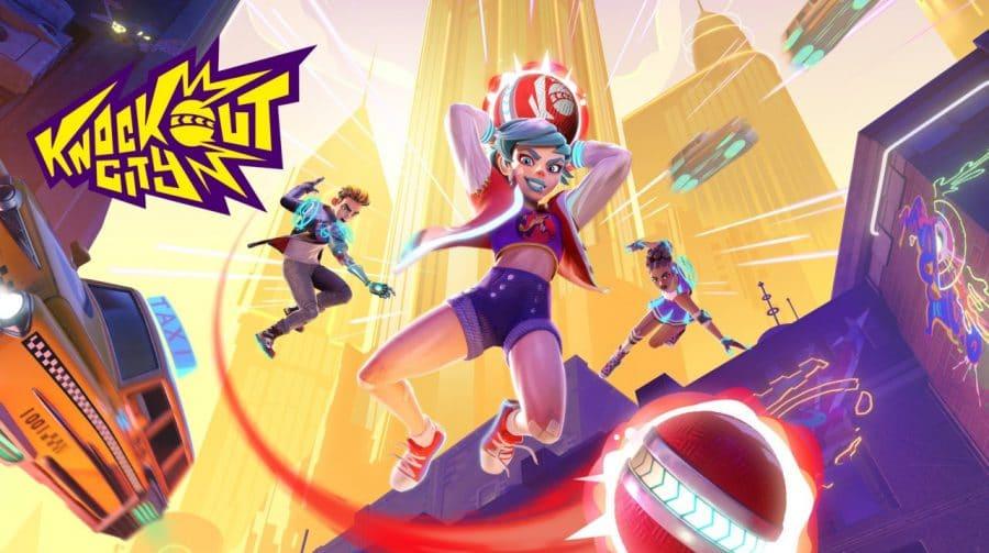 Dos produtores de Mario Kart, EA anuncia Knockout City, um jogo de queimada