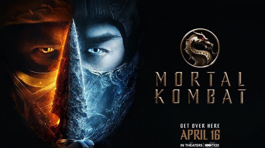 Novo pôster de Mortal Kombat destaca Scorpion e Sub-Zero