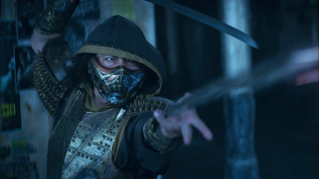 Scorpion no novo filme de Mortal Kombat