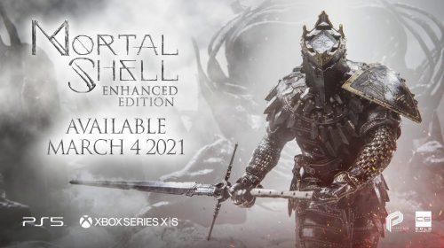 Com upgrade gratuito, Mortal Shell chegará ao PS5 em março