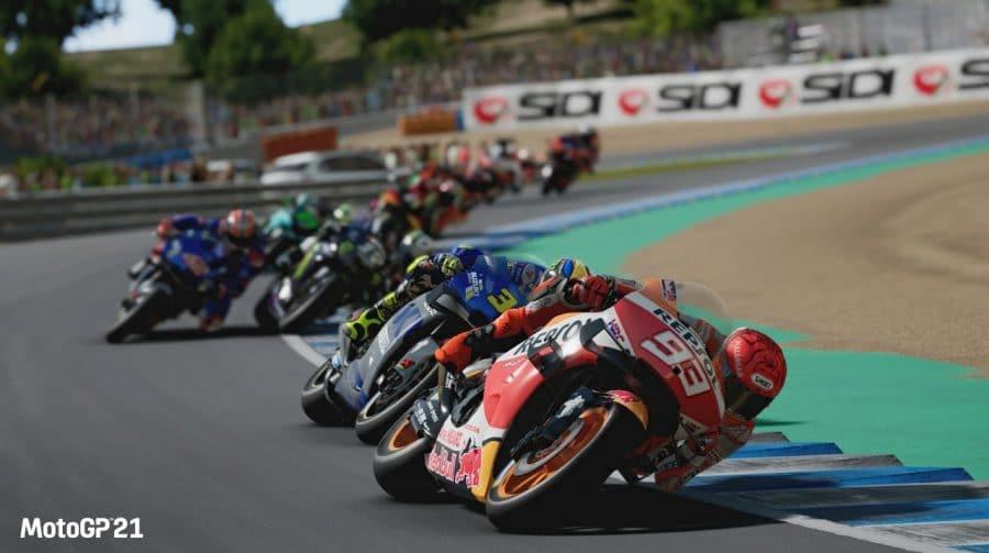 Emoção sob duas rodas: MotoGP 2021 é anunciado para PS4 e PS5