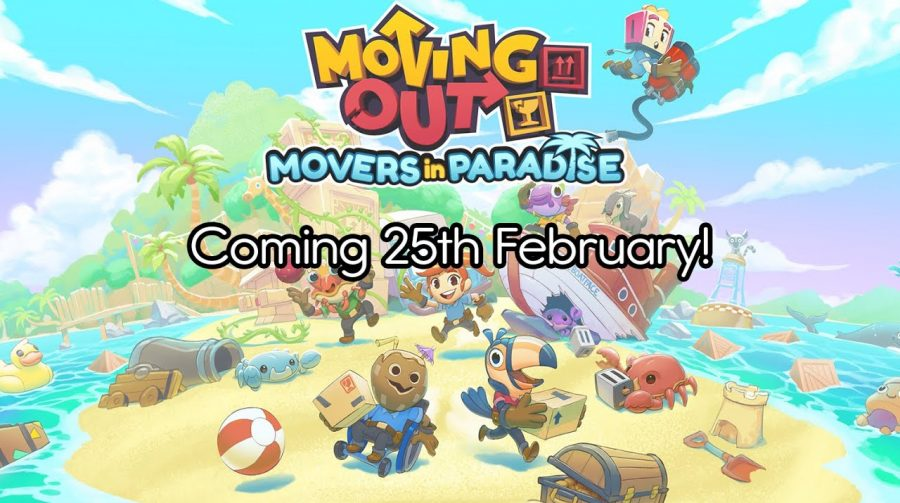 DLC de Moving Out, 'Movers in Paradise' chega nesse mês