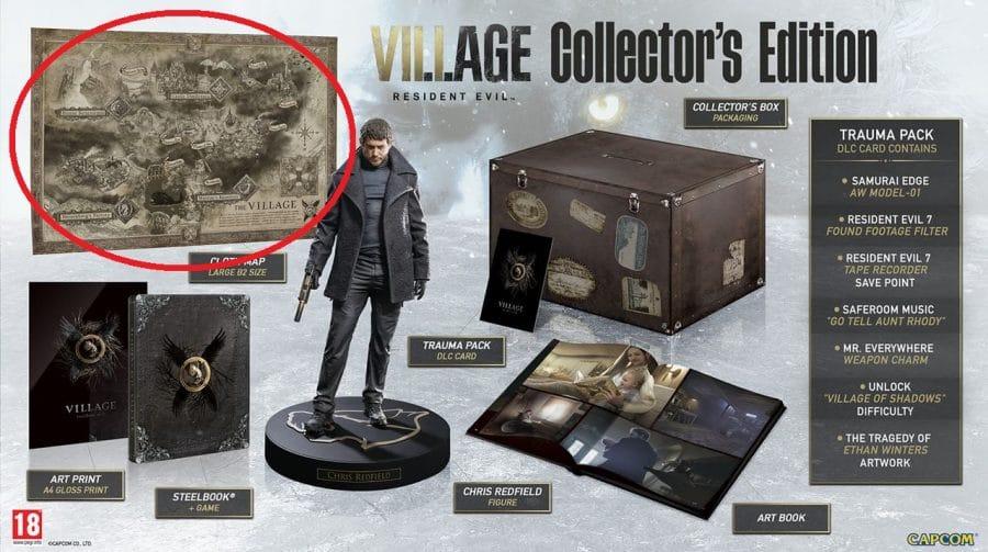 Fã descobre detalhes intrigantes do mapa de Resident Evil Village