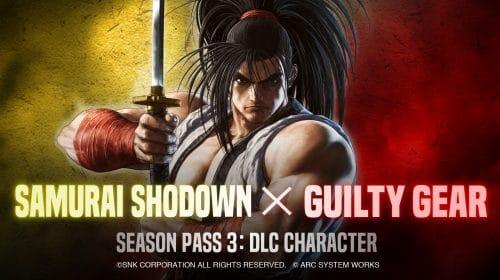 Samurai Shodown receberá personagem da franquia Guilty Gear