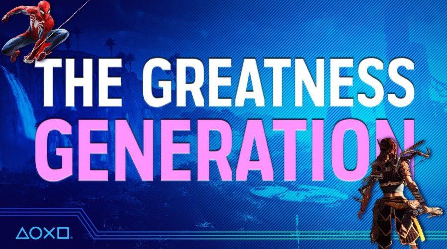 Sony divulga vídeo com 12 personagens que definiram a Geração PS4